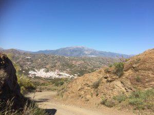 wandelroute van Almachar naar Benamargosa