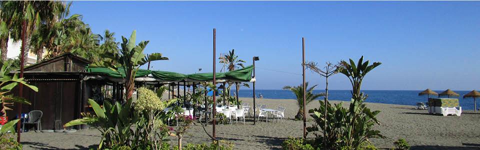Caleta de Velez - strand - oktober 26 graden