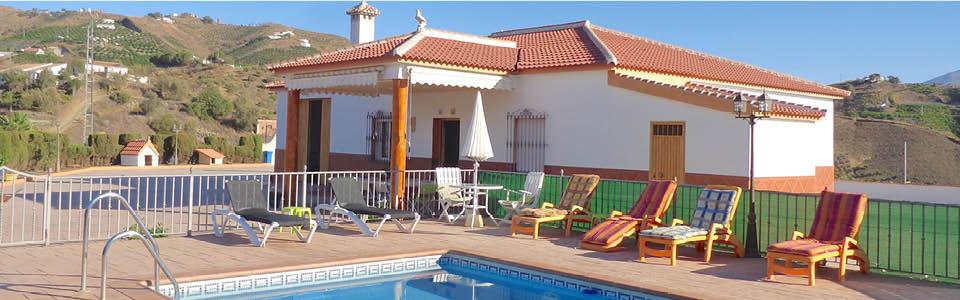 Villa zwembad zuid spanje strandvakantie echt andalusi - Zwembad met strand ...