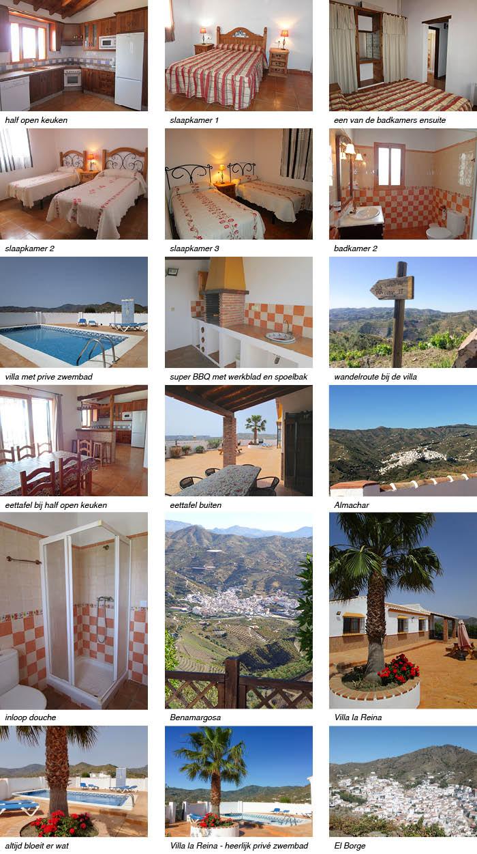 Villa la Reina - heerlijk privé zwembad, interieur onder