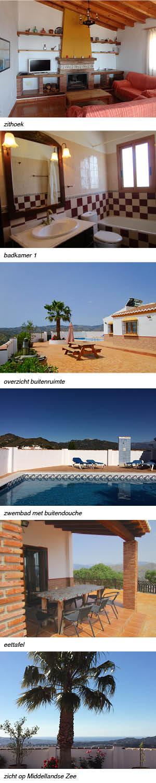 Villa la Reina - heerlijk privé zwembad, interieur rechts