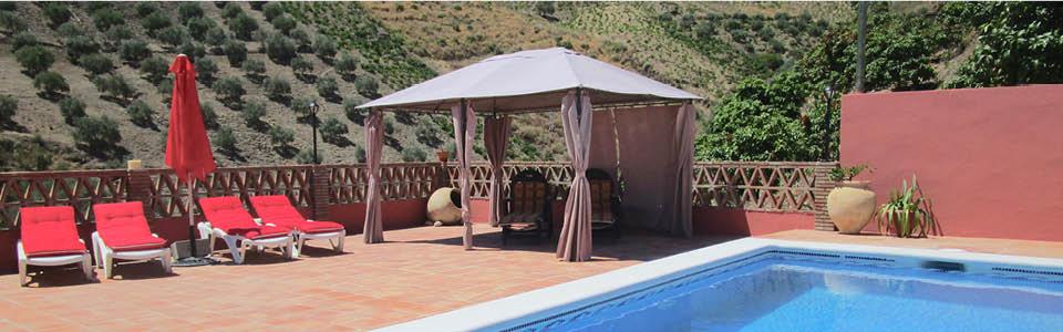 prive zwembad Villa Guti