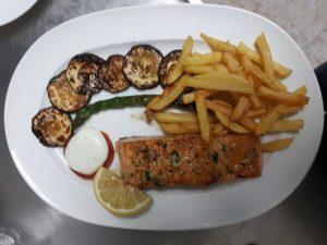 Salmon Plancha