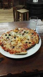 huisgemaakte pizza