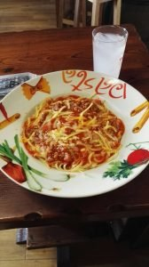 huisgemaakte spaghetti