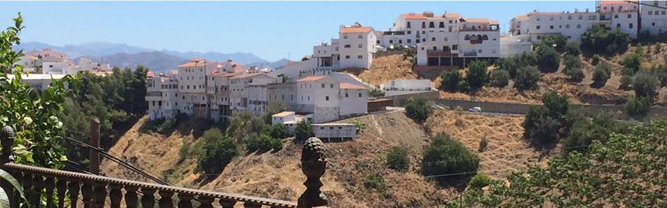 Almachar skyline
