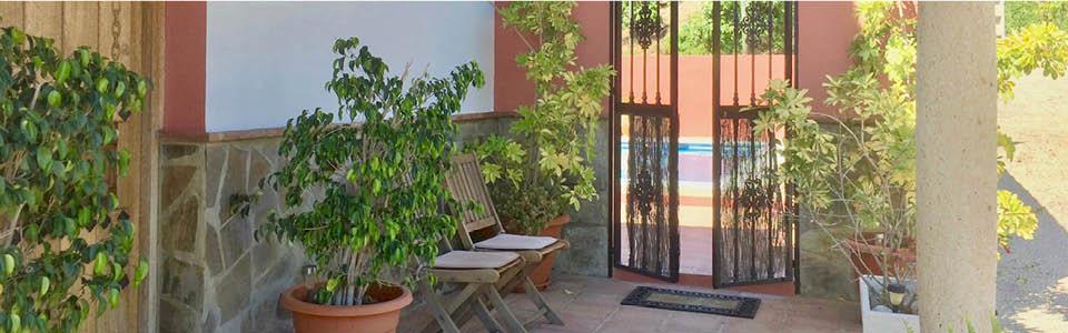 patio van Villa Guti