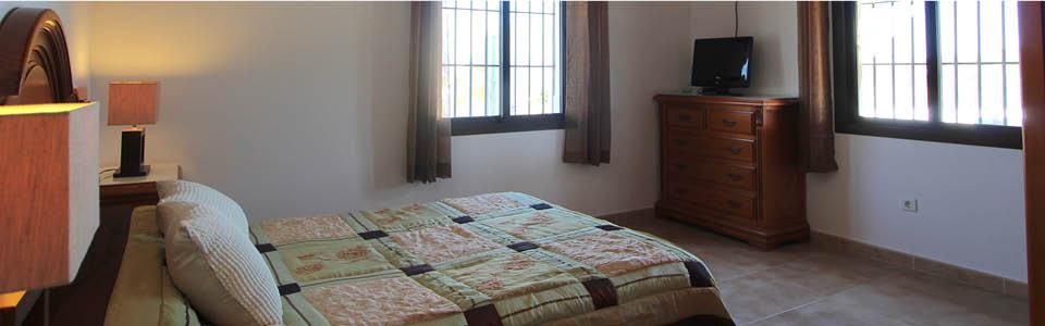 nieuwe bedden in vakantiehuis Casa Salvalex