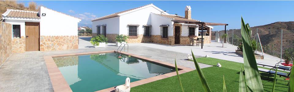 vakantiehuis Casa Salvalex met superzwembad - Echt Andalusie