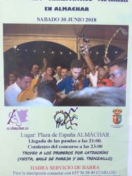 zaterdag 30 juni Almachar