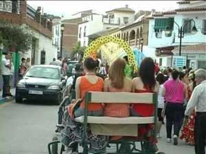 Romeria feest in Benamargosa