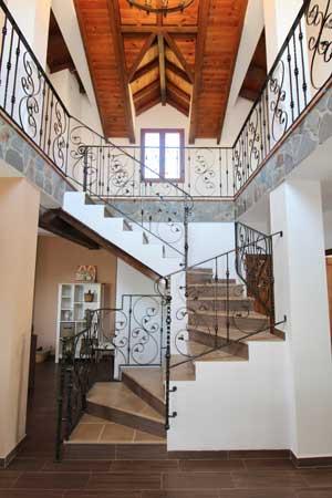 Vakantiehuis Villa Solana met imposant trappenhuis