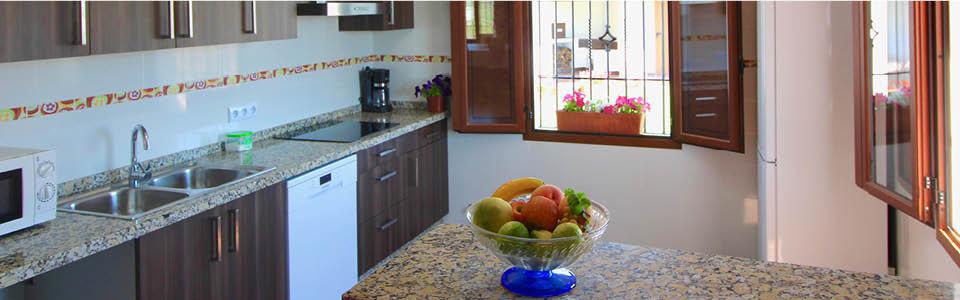 keuken van villa