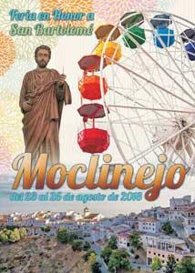 feest in Moclinejo wit dorpje in La Axarquia 23 tot 26 augustus 2018