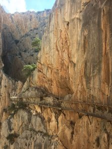 spectaculaire wandeltocht Caminito del Rey