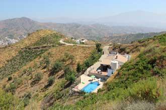 vakantiehuis casa pitar luchtfoto
