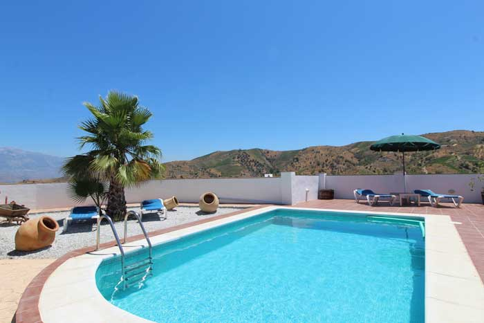 privacy, rust en ruimte welkom in Casa la Maroma