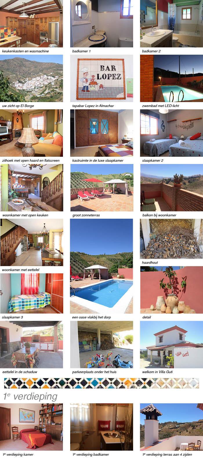 Casa Villa Guti interieur fotos onder