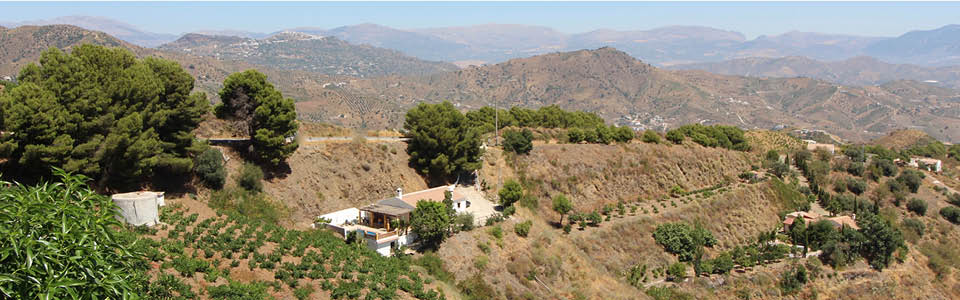 Villa in het landschap