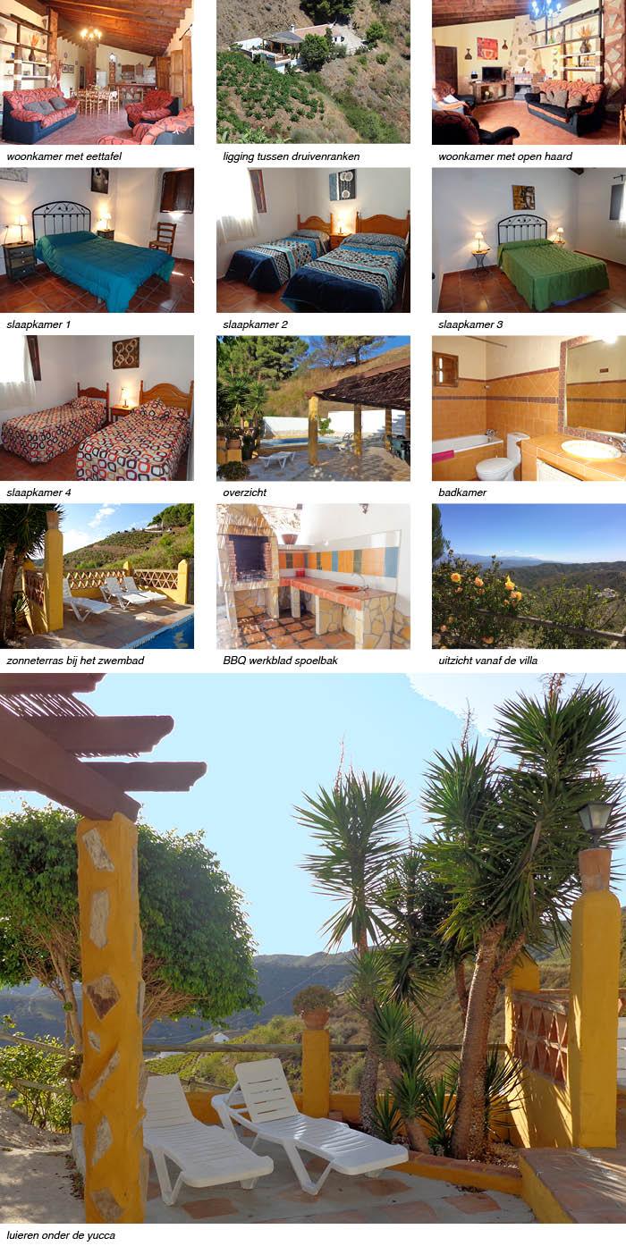 Villa Cachopin, interieur fotos onder