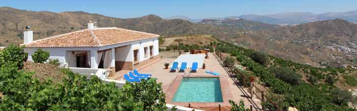 Villa Zuid Spanje Casa Monica super uitzicht - super ligging
