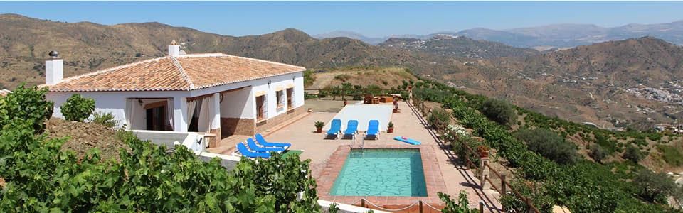 vakantiehuis La Axarquia