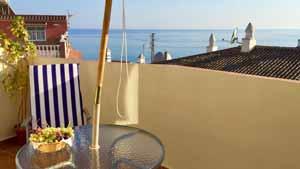 uitzicht op zee appartement met airco