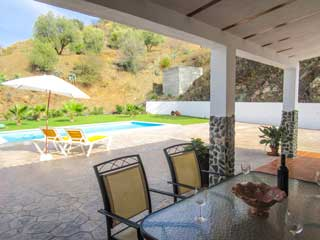 Casa Caudia vakantiehuis in Andalusie aan de rivier