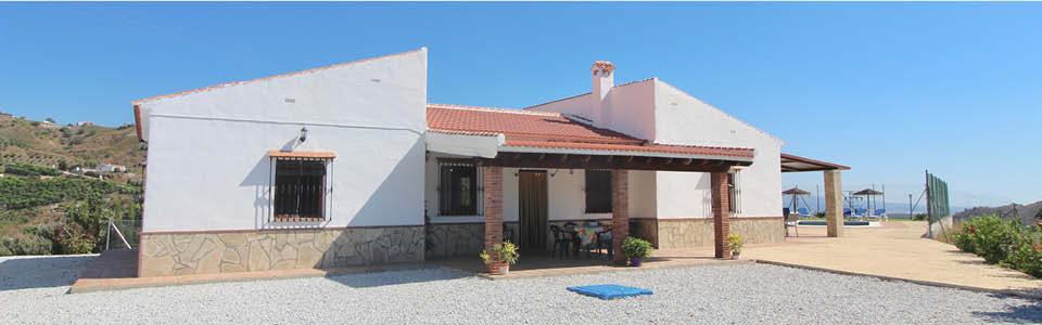 Andalusie ruim vakantiehuis met 4 slaapkamers Echt Andalusie