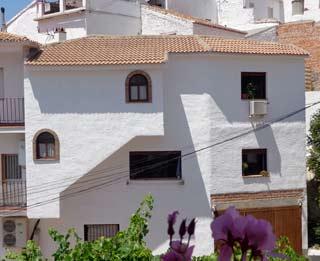 Goedkoop dorpshuis vakantiehuisje in dorpje Andalusie, 4  personen - Casa Zenaida