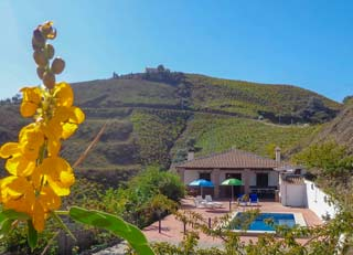 Groot vakantiehuis in Andalusie zuid Spanje zwembad 5 slaapkamers - Casa Lagar