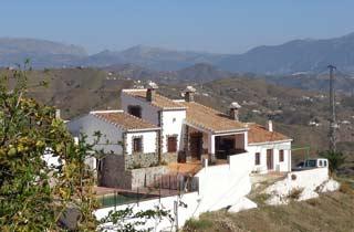 Kindvriendelijk vakantiehuis met afgesloten prive zwembad in Andalusie - Casa Carmelita