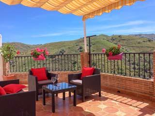 Luxe Appartement met groot terras en verwarming in dorpje El Borge - Casa Josefina