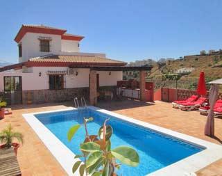 Luxe Villa in zuid Spanje met zwembad en airco op loopafstand van dorpje Almachar - Luxe Villa Guti