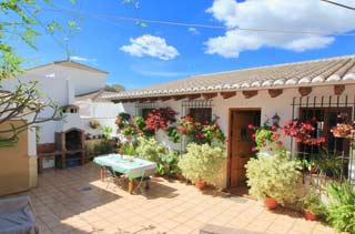 Ruim vakantiehuis in het witte dorp El Borge Axarquia - Casa Colina
