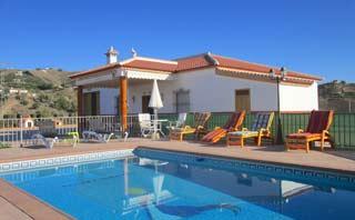 Strand Villa vakantiehuis met zwembad bij zee en kust zuid Spanje - Villa Cinero