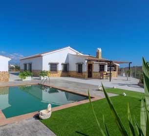 Super Vakantiehuis met prive zwembad in Andalusie Zuid Spanje - Casa Salvalex
