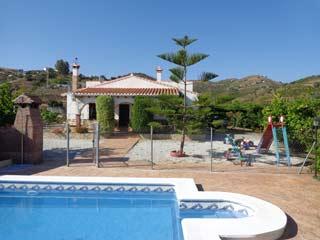 Vakantie met kinderen kindvriendelijk vakantiehuis zwembad in Andalusie, zuid Spanje - Finca Alberto