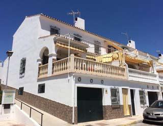 Vakantiehuis aan zee zuid Spanje, Costa del Sol, terras zwembad - Casa Marino