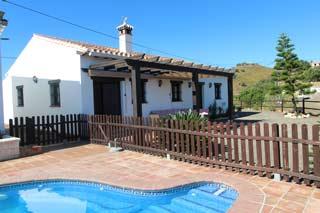Vakantiehuis bij Middellandse Zee costa del sol met zwembad zuid Spanje - Casa Carmen