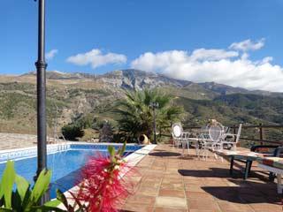 Vakantiehuis in de natuur Andalusie met zwembad en tennisbaan padelbaan wandelen - Finca Marta