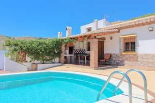 Vakantiehuis in de natuur van Andalusie met zwembad wandelen en privacy - Casa la Maroma