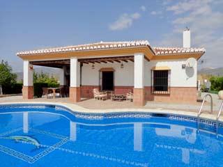 Vakantiehuis met airco en prive zwembad petanque met zicht op zee Andalusie zuid Spanje - Casa Ariana