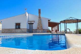 Vakantiehuis met zwembad en zeezicht in Andalusie - 9 personen - Casa Conchi