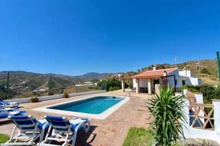 Vakantiehuis met zwembad in Andalusie strand bij zee zuid Spanje - Casa Maribel