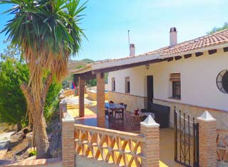 Vakantiehuis op loopafstand van dorp met zwembad Andalusie - Casa Saray