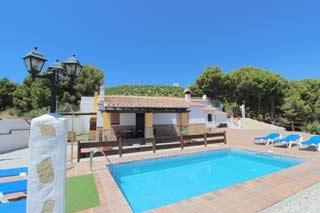 Vakantiehuis zuid Spanje villa zee strand kust met zwembad in Andalusie - Casa Periya