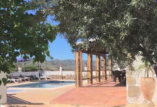 Vakantiehuis zwembad Andalusie met zicht op zee Zuid Spanje 10 personen , 5 slaapkamers - Casa Manolo