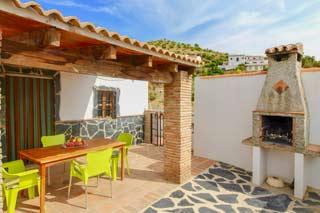 Vakantiehuisje op loopafstand van dorpje met zwembad in Andalusie - Casa Eduardo