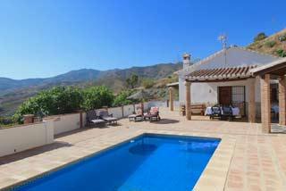 Villa Andalusie zwembad Zuid Spanje op loopafstand van dorpje - Villa la Sierra